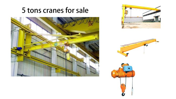 5 tons crane for sale