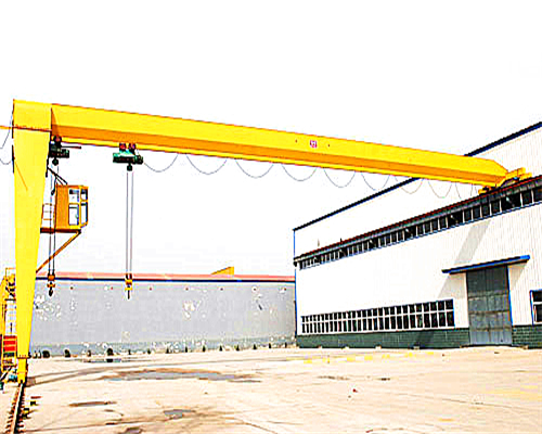 BMH Ellsen Hoist Semi 5 ton gantry crane for sale