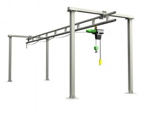 free standing overhead crane design