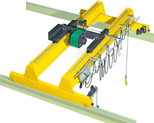 Ellsen double girder eot overhead crane for sale