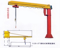 Ellsen-BZ-5-ton-Jib-Crane-for-Sale
