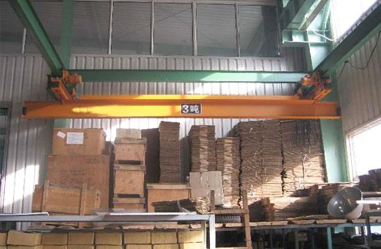 Underhung Warehouse Overhead Crane