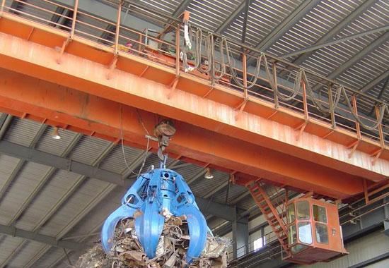 Scrap Handling Crane